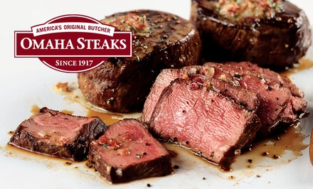 Memorial Day Steak Packages from Omaha Steaks Stores (Up to 71% Off). Four Options Available.