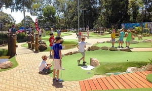 City Golf Gordon: 18-Hole Mini Golf for Two ($15), Three ($21) or Four ($26) at City Golf Gordon (Up to $54 Value)