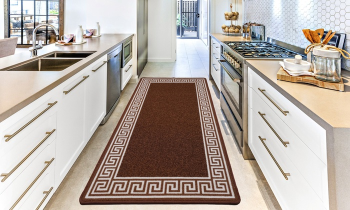 Non-Slip Gel-Back Door Entrance Mats in Choice of Colour and Size