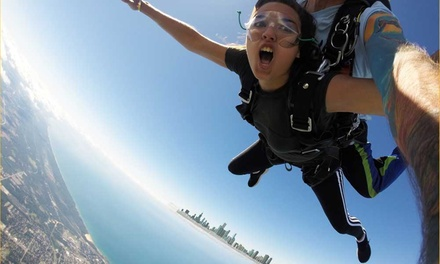 One or Two Tandem Skydive Jumps at Skydive Windy City Chicago (Up to 20% Off)