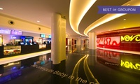 Cinema Tickets or Softair Battle Credits with Voucher Towards Food at The Mall at World Trade Center Abu Dhabi (50% Off)