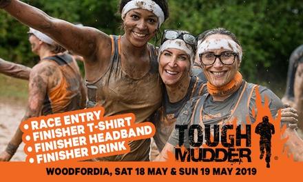 Tough Mudder 5K at Woodfordia, 1819 May 2019: save up to 30%
