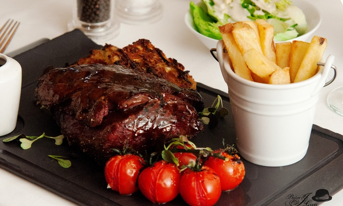 The Old Bell Inn - Edinburgh: ChateaubriandSteak with Sides and Wine for Two or Four at The Old Bell Inn (Up to 36% Off)
