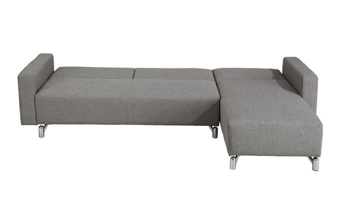 Fino a 70 su divano letto con penisola splinter groupon - Divano profondita 70 ...