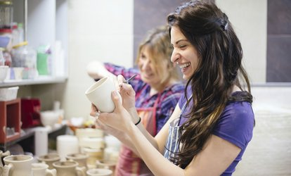 image for Pottery Painting and Design For One or Two at Art on Fire of Cincinnati (Up to 37% Off)