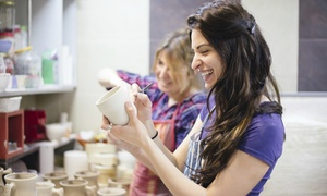 Cafe Art: Studio Time for Two or Four with Option to Purchase Ceramics at Cafe Art (Up to 60% Off)