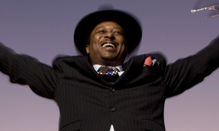 Kermit Ruffins' Big Easy Trumpet Battle Royale with special guests - House of Blues New Orleans: Kermit Ruffins' Big Easy Trumpet Battle Royal at House of Blues New Orleans on April 30 (Up to 41% Off)