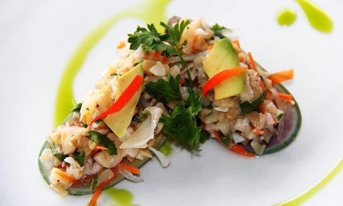 Del Mar al Lago Cebicheria Peruana - Del Mar al Lago Cebicheria Peruana: Peruvian Cuisine for Dinner or Lunch at Del Mar al Lago Cebicheria Peruana (50% Off)