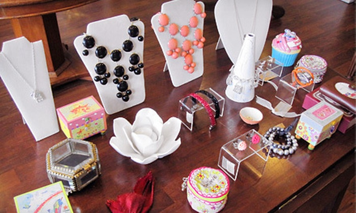 Curtsies & Petals - Vienna: $15 for $30 Worth of Handmade Jewelry, Frames, and Body Products at Curtsies & Petals