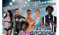 Two or Four Tickets to The BWE 2nd Annual Testing Ground Tournament or The BWE British Bombshells Debut Show