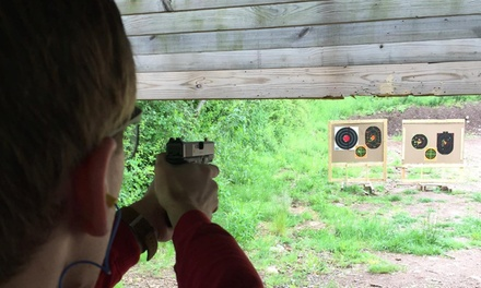 $69 for NRA Pistol Permit Certification for One Person at Blue Trail Range ($99 Value)