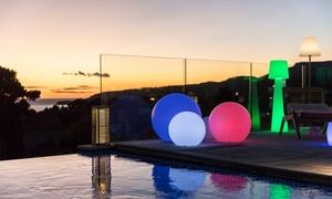 Boule ou cube lumineux sans fil LED multicolore Lumisky