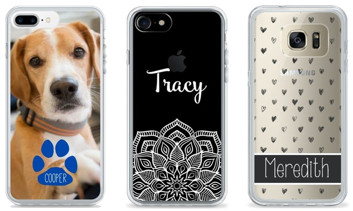 Custom Phone Cases - Clearly Cased  Groupon