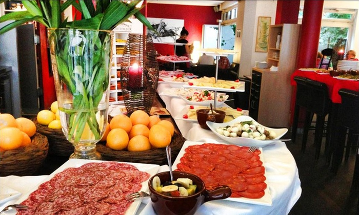Cafe dell Arte - Cafe dell Arte: All-you-can-eat-Frühstücksbuffet für 1, 2 oder 4 Personen im Cafe dell Arte (bis zu 17% sparen*)