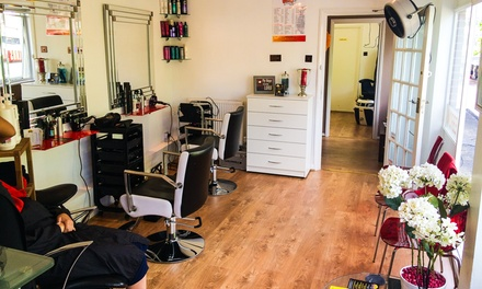 Wash, Cut, Blow-Dry and Half Head of Highlights at Grace Hair and Beauty