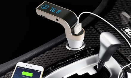 up to 37 off on bluetooth fm transmitter car kit. Black Bedroom Furniture Sets. Home Design Ideas
