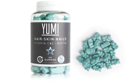 60 Yumi Nutrition Hair, Skin and Nails Biotin Gummies