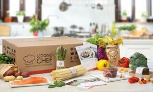 SecondChef.it - Food Box: Box con consegna a domicilio per preparare cene per 2 o 4 persone con SecondChef.it (sconto fino a 68%)