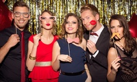 Up to Four-Hour Event Photobooth Hire with Attendant, Props and Prints form The Photobooth Club