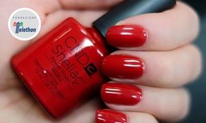 Cosmed Beauty Center: Fino a 10 sedute di manicure e pedicure con smalto semipermanente Shellac da Cosmed Beauty Center (sconto fino a 89%)