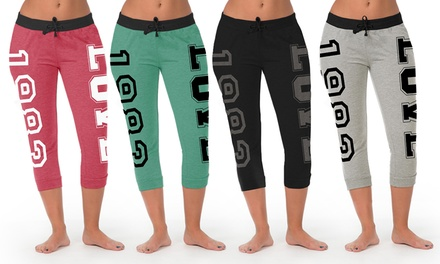 2-Pack of Jogger Capris in Regular and Plus Sizes