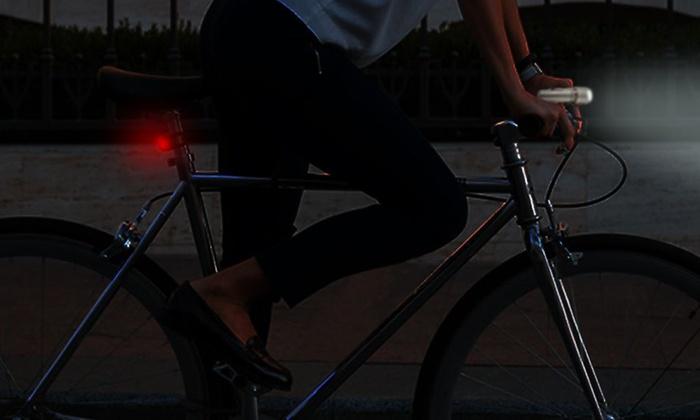 Set di luci per bici groupon goods