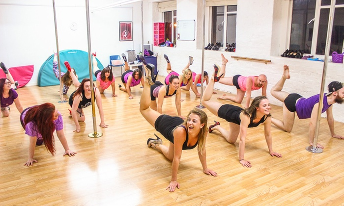 One Pole Dancing Class or Four-Week Course, or Four-Week Toned Abs and Flexy Legs Course at Poletastic (Up to 50% Off)