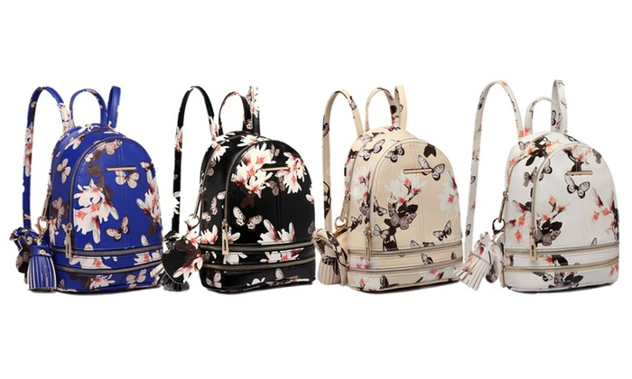 Floral Mini Backpack | Groupon Goods