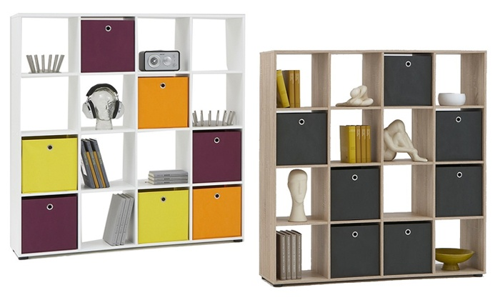 Groupon Goods: Cilia Mega Six-Shelf Unit for R1 799.99 Including Delivery (40% Off)