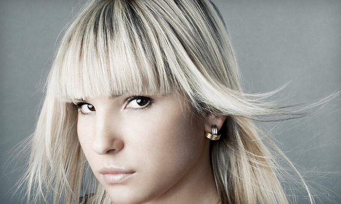 Salon Sein - Schererville: Haircut with Full Color or Two-Color Partial Highlights, or Keratin Treatment at Salon Sein (Up to 60% Off)