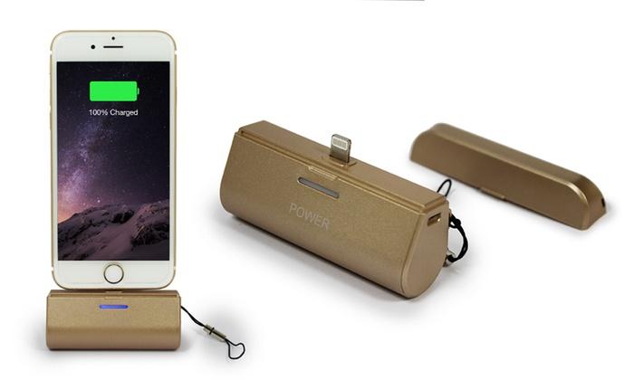 batterie support portable iphone groupon. Black Bedroom Furniture Sets. Home Design Ideas