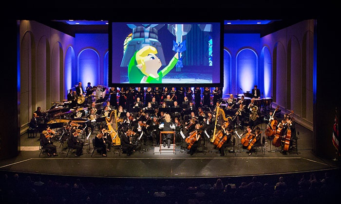 """The Legend of Zelda: Symphony of the Goddesses Master Quest - Segerstrom Center for the Arts: """"The Legend of Zelda"""": Symphony of the Goddesses – Master Quest on March 8 at 7:30 p.m."""