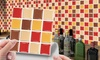 Up to 80 Kitchen PVC Tile Stickers