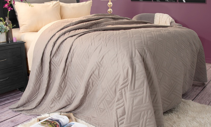 Solid Color Bed Quilts | Groupon Goods : solid color quilts - Adamdwight.com