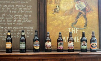 Brewery Tour with Tasting, Two-Course Lunch and Gift Pack for Up to Four at The Great Yorkshire Brewery (Up to 50% Off)