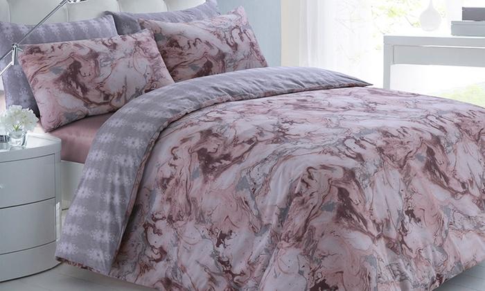 Sleepdown Easy-Care Duvet Set in a Choice of Design from £5