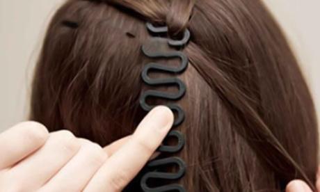 1, 2 o 3 herramientas para trenzar el pelo