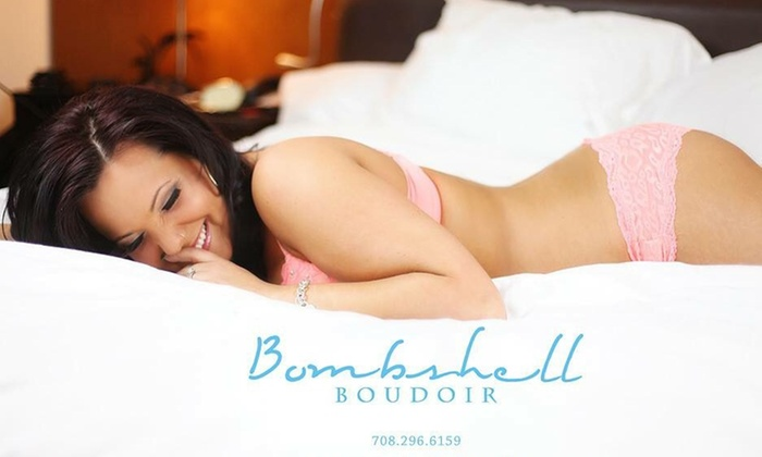 Bombshell Boudoir - Channahon: 60-Minute Boudoir Photo Shoot with Wardrobe Changes and Digital Images from Bombshell Boudoir (83% Off)