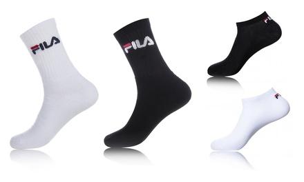 Pack de 6 à 24 Chaussettes de la marque Fila pour Homme, plusieurs modèles