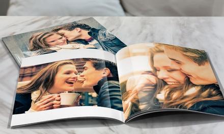 Livre photo 20x20 cm ou A4 de 20, 40, 60 ou 100 pages sur Printerpix dès 2 € (jusqu'à 92% de réduction)