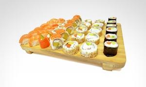 Sushi Rock: Desde $235 por 36 o 72 piezas de sushi combinado premium + envío con Sushi Rock