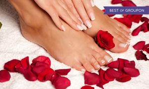 Divine Day Spa: Stylizacja hybrydowa: manicure (34,99 zł), pedicure (45,99 zł) i więcej opcji w Divine Day Spa (do -49%)