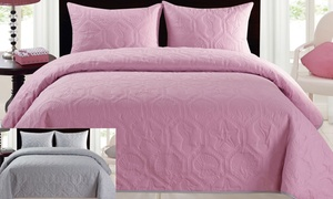 Sea-Themed 3-Piece Reversible Bedspread Set at Sea-Themed 3-Piece Reversible Bedspread Set, plus 9.0% Cash Back from Ebates.