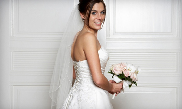 The Perfect Dress: Bridal  - Trenton: Bridal Accessories and Apparel at The Perfect Dress: Bridal in Trenton (Up to 60% Off). Two Options Available.