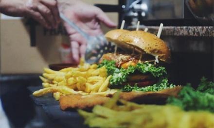 Menú a elegir para 2 o 4 personas con entrante, principal, postre y bebida o botella de vino desde 19,99 € en Ro Burger