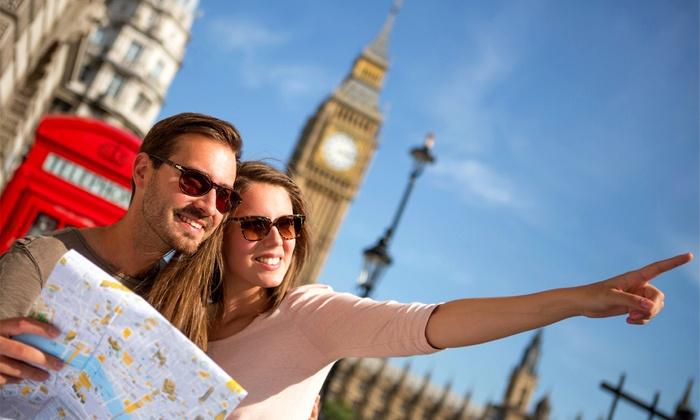 ✈ Londra e Parigi: volo e hotel   Groupon Viaggi