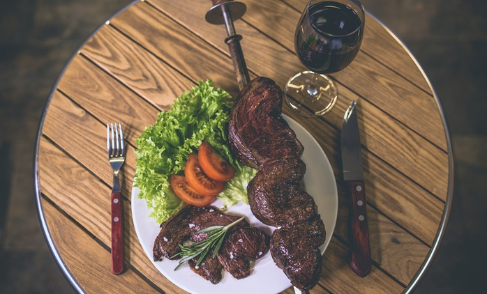All-You-Can-Eat Brazilian Buffet for Up to Four at Estancia Brasil Steak House (34% Off)