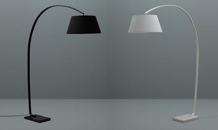 Lampada ad arco modello carolei by twist design disponibile in