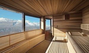 Montana Wellness: Montana Wellness - Percorso Day Spa per 2 persone con vista sulle Dolomiti del Brenta