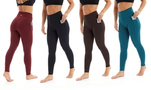 Marika Women's Regular or Plus Size High-Rise Tummy-Control Leggings